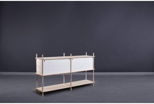SPLIT Sideboard 2 - weiß