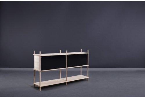 SPLIT Sideboard 2 - schwarz